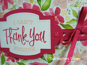 Sosentimental thankyoudetail bestdressed loriskinner stampinup