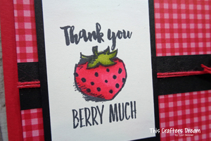 Witty cisms berry detail loriskinner stampinup