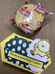 Easter chick cupcake basket option 1