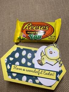 Easter chick cupcake basket option 4