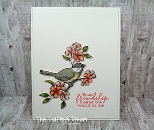 Birdballad friendship thiscraftersdream loriskinner
