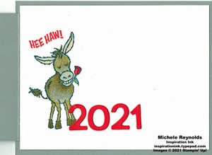 Darling donkeys kicking 2020 goodbye inside watermark