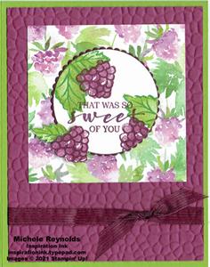 Sweet strawberry sweet of you blackberries watermark