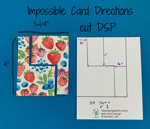 Impossible card directions