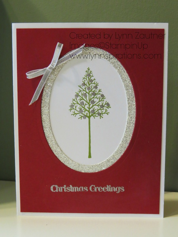 Framed christmas tree