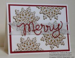 Debra burgin festive flurries redux