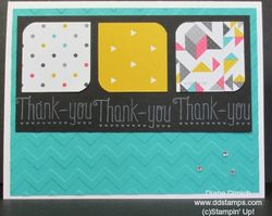 Stampin' up! another thank you 2