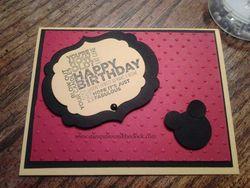 Mickey card