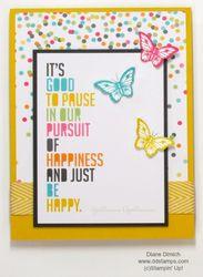 Stampin' up! project life papillon potpourri