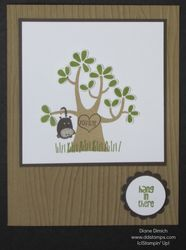 Stampin' up! nuts about you