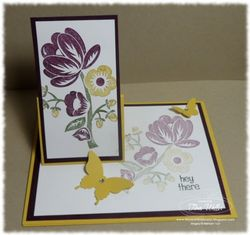 Hey there buds easel card tina weller