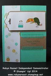 Card 189 little buddy birthday tall