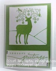 Personal xmas cards 2012