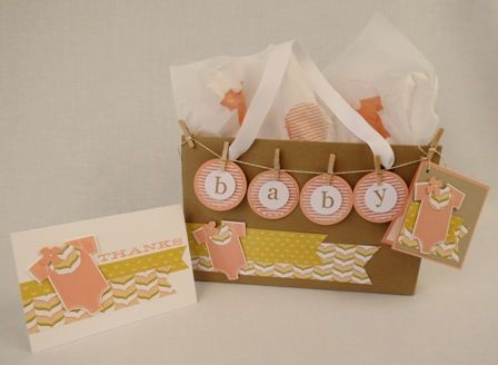 Gift bag for baby thank you diane