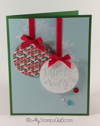 Stampin' up! mingle all the way