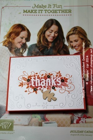 Card 232 seasonally scattered thanks tall