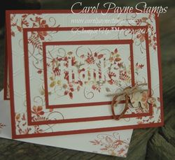 Stampin up seasonally scattered 1