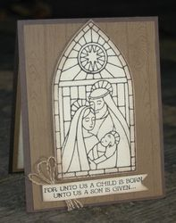 Stampin up gentle peace hardwood 1