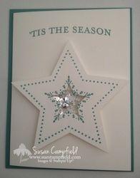 Many merry stars shaker card1 imp