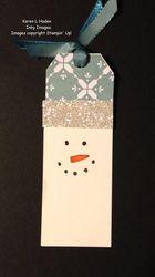 Snowman tag 1