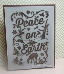 Stampin up natures peace 1
