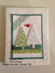 Festival of trees card