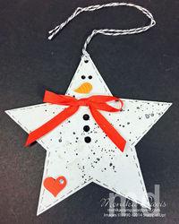 Star snowman