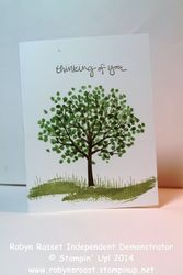 Card 260a sheltering tree tall