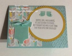 Something for baby card