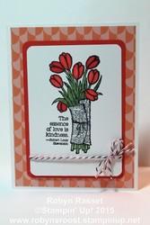 Card 283 love is kindness tall