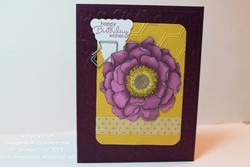 Card 309 blended bloom paper tole