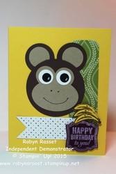Card 316 monkey business tall