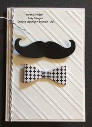 Mustach card