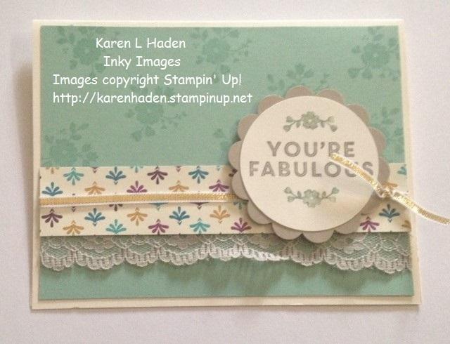 You re fabulous card