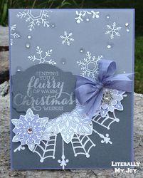 Basic wisteria snowflake