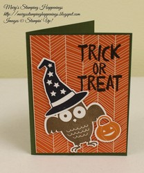 Howl a ween card 1a