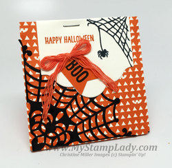 Single gift bag punch board