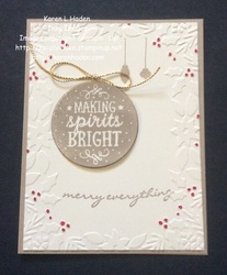 Making spirits bright karen haden