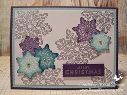 Flurry of wishes  stampin  up  www.regalstamping.com by krista thomas