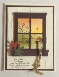Fall window card 2