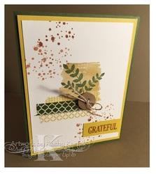 Leaves card 001