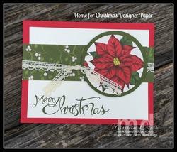 Simple christmas card e