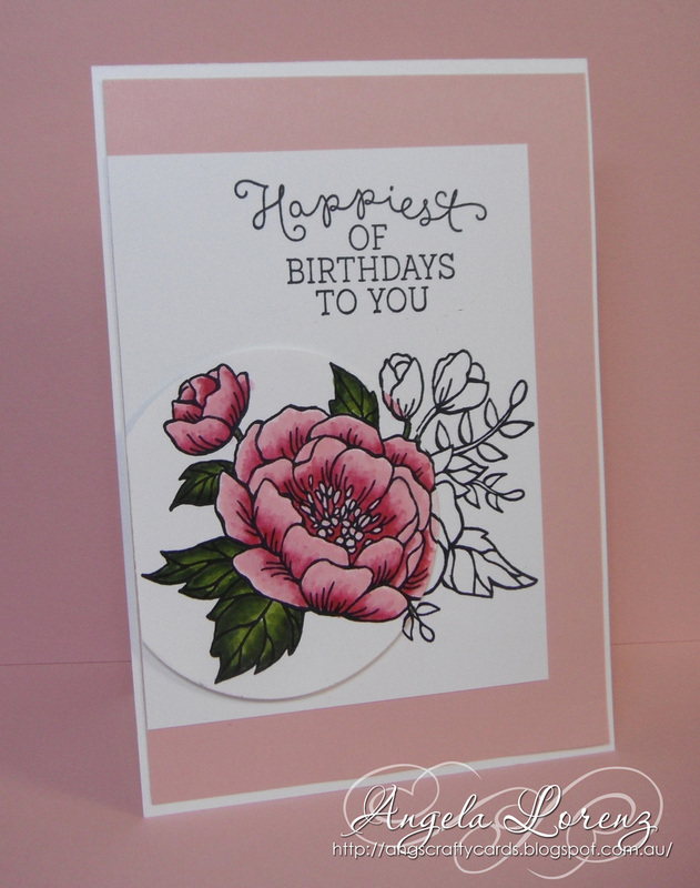 Birthday blooms stampin up