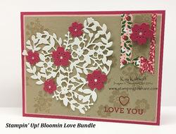 6 bloomin  love bundle valentine card