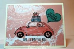 Card 425 love bug