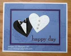 Heart punch art bride   groom 01 by stampladykatie