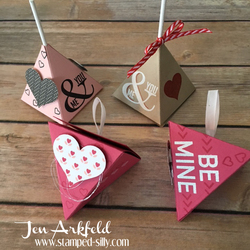 Valentine pyramid
