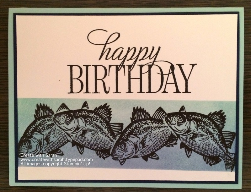 Happy Birthday Fish Thesearemystamps