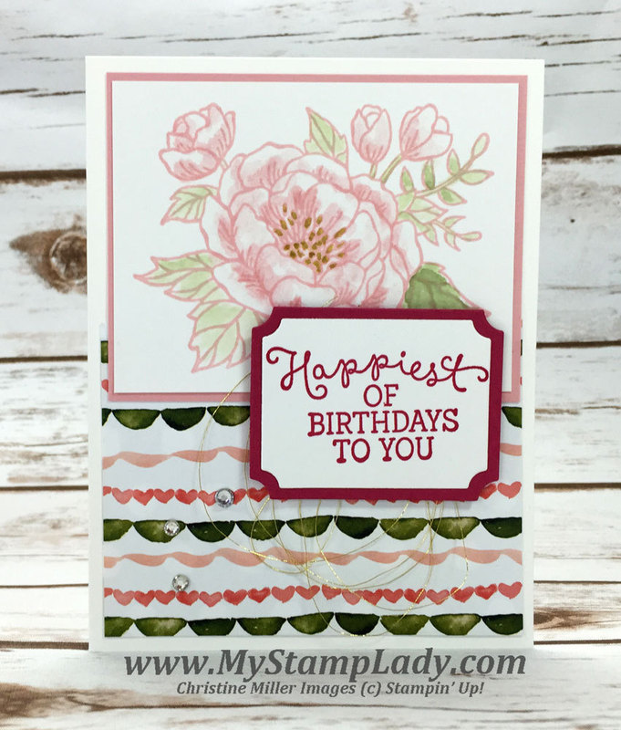 Birthday blooms blushing br