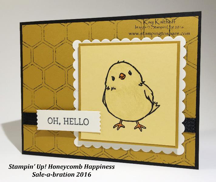 20 honeycomb happiness chick